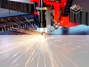 Manufacturing of laser devices for processing and cutting metal